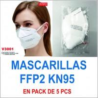 Mascarillas FFP2 KN95