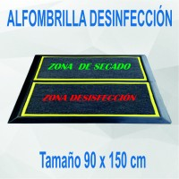 Alfombrillas desinfectantes 90x150 cm